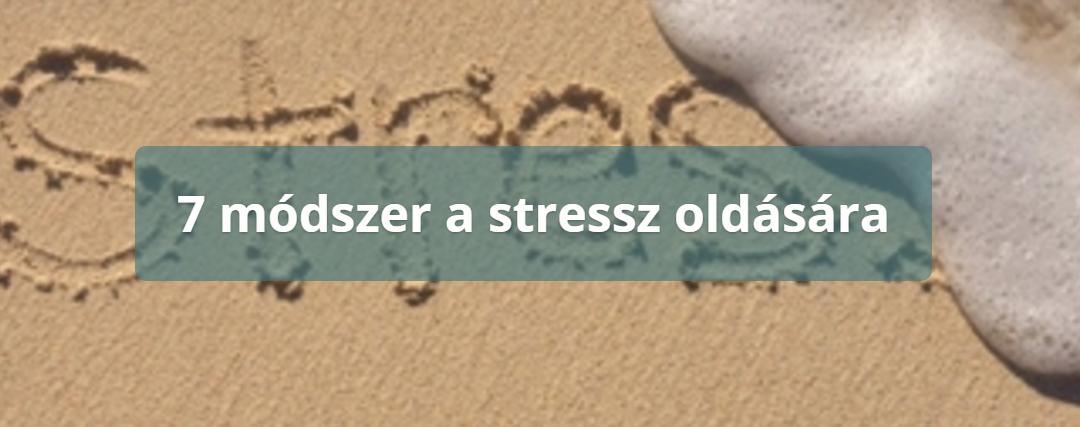 Stresszes az életed?