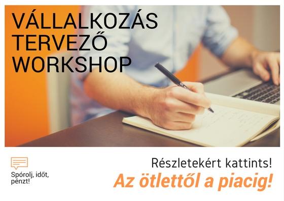 Vállalkozásindító/tervező tréning