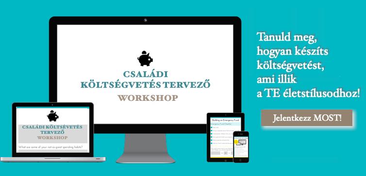 Jelentkezz Családi költségvetéskészítő online workshopra